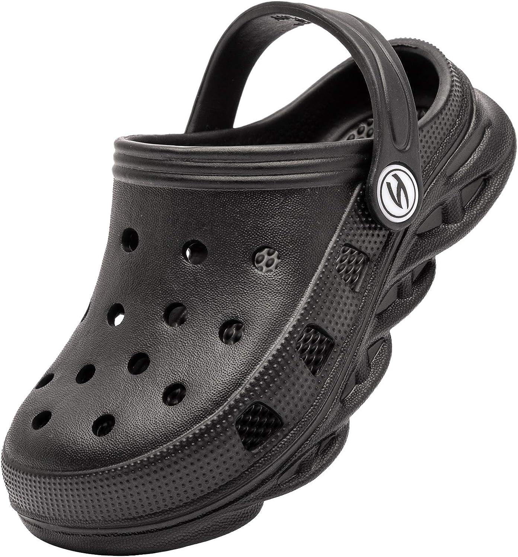 Kids Garden Clogs Toddler Non-Slip Garden Shoes Slip-on Sandals Beach Pool Shower Slippers Clog Mules for Children Girls Boys