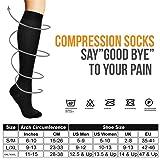 (8 Pair) Compression Socks/Stockings for Men&Women