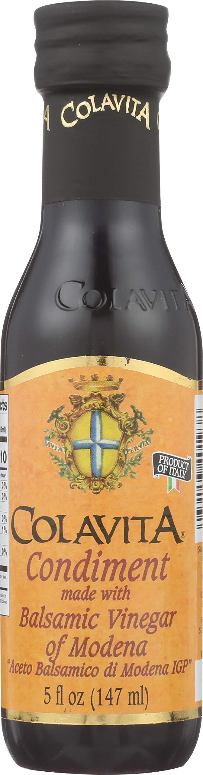 Colavita Balsamic Vinegar, 5-Ounce Bottles (Pack of 16) by Colavita