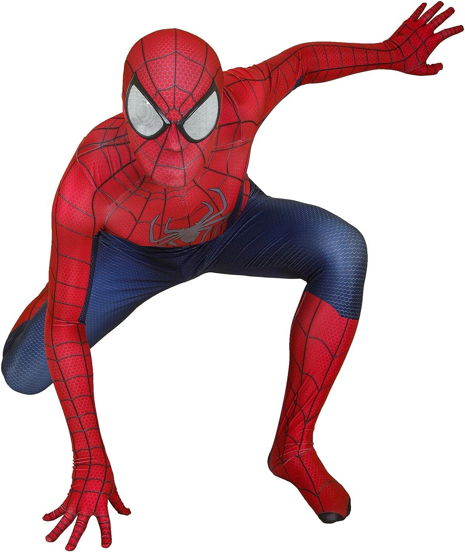 JiaMan HT Unisex Lycra Spandex Zentai Halloween Cosplay Costumes Adult//Kids 3D Style