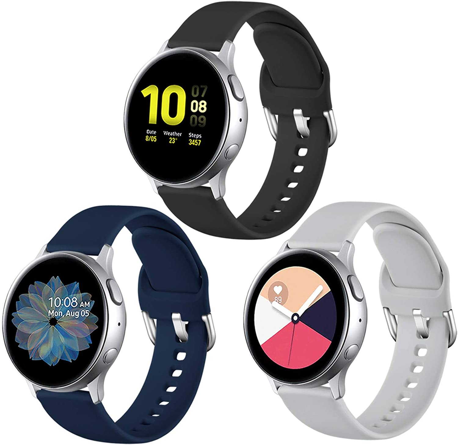 Malla Para Galaxy Watch Active/active2 Large Pack 3