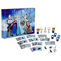 Disney Frozen dfr15-y17–6345puzzle Eraser calendario dell' avvento