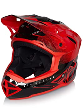 Fly Racing Casco Integral MTB 2019 Default Rojo-Negro (L, Rojo)