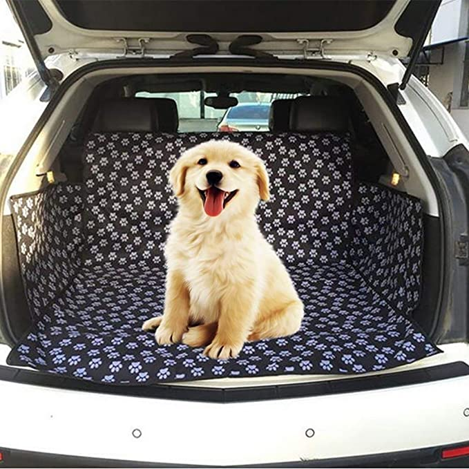 Waterproof Quilted Padded Dog Pet Mat Car Boot Liner fits Hyundai IONIQ