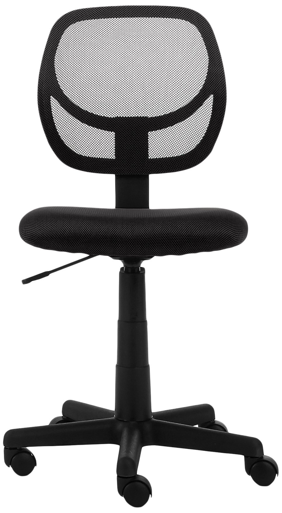AmazonBasics Low-Back Computer Task/Desk Chair with Swivel Casters - Black by AmazonBasics (Image #3)