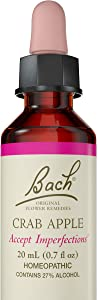 Bach Original Flower Remedy Dropper, 20 ml, Crab Apple Flower Essence