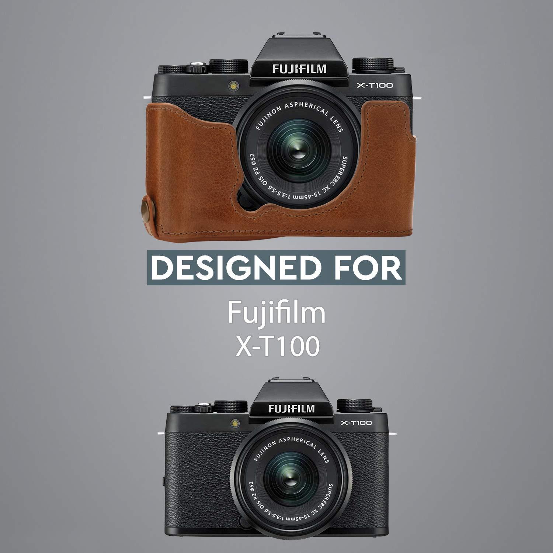 Grau 15-45mm MegaGear MG1488 Ultraleichte Kameratasche aus Neopren f/ür Fujifilm X-T100