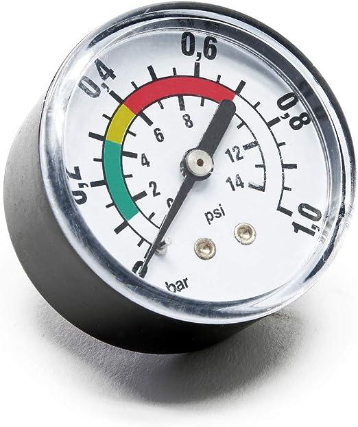 Repuesto Manómetro Filtro Indicador presión Filtro Arena Recambio ...