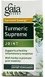 Gaia Herbs Turmeric Supreme Joint Liquid Phyto Capsules, 120 Count