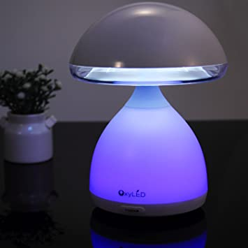 Attirant Kids Bedside Lamp, OxyLED Touch Sensor Bedside Table Lamps Night Light For  Baby Room,