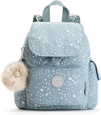 Kipling - City Pack Mini, Mochilas Mujer, Azul (Silver Sky), 14x27x29 cm (B x H T): Amazon.es: Zapatos y complementos