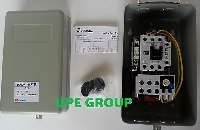 10HP 18Amp MS-P21 Magnetic Motor Starter 3-Phase 460V