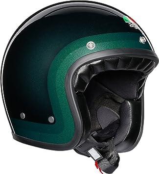 AGV X70 Trofeo Verde Motocicleta Casco Tamano 60cm