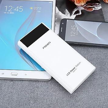 Lorenlli 20000mAh 18650 Powerbank Dual USB Puertos 2A ...