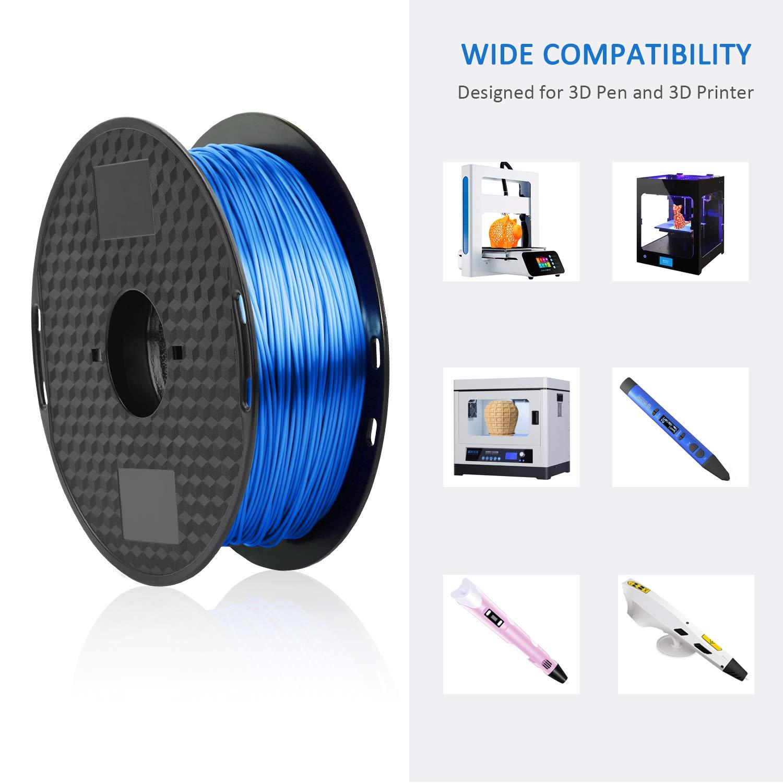 Amazon.com: Filamento de seda PLA de 0.069 in, filamento de ...