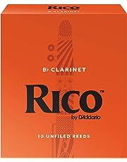 Rico RCA1025 Bb Clarinet Reeds, Strength 2.5, 10-pack