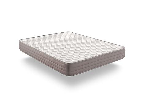 Naturalex Colchon visco - Aerolatex - Espuma adaptativa Blue Latex – Tecnologia Aquapur - 7 Zonas de Confort - Reversible (135 x 190 cm, 17)