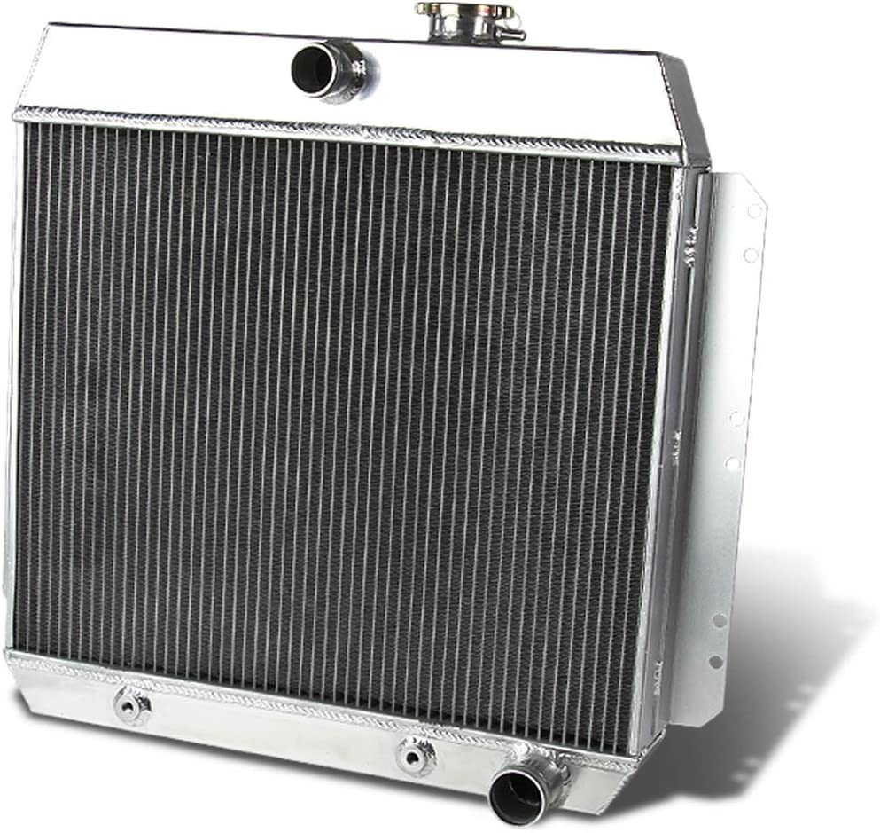 3 ROW ALUMINUM RACING RADIATOR for Chevy Cars V8 1949-1954 49 50 51 52 53 54