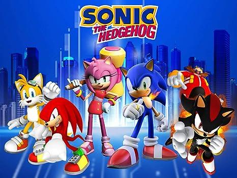 Sonic telón de Fondo, para Suministros de Fiesta ...