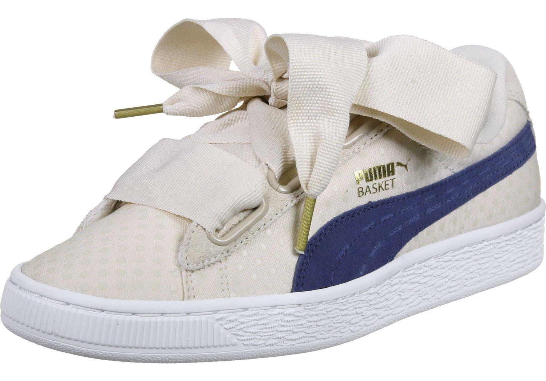 Puma damen  7.0 UK - 40.5 EU|beige / blau
