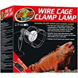 Zoo Med Laboratories LF10 Wire Cage Clamp Lamp
