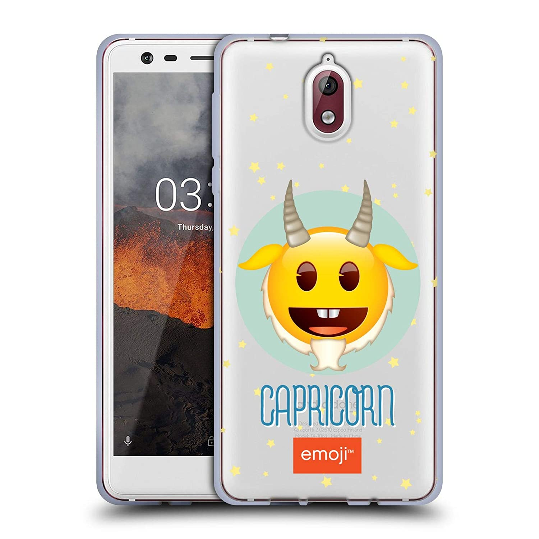 Amazon.com: Official Emoji Capricorn Zodiac Signs Soft Gel ...