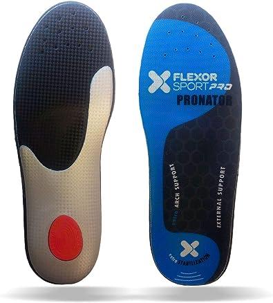 Desconocido Flexor Sport Trail Running para pie pronador. Plantillas deportivas Flexor Sport absorción de impactos de fibras y látex. Made in Spain: Amazon.es: Zapatos y complementos
