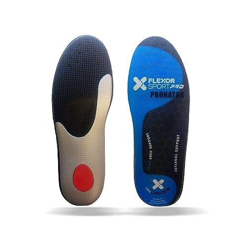 Desconocido FlexorSport deportivas para pie pronador FX7 018. Plantillas trail running absorción de impactos made