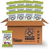 SkinnyPop Original Popped Popcorn, Individual Bags, Gluten Free Popcorn, Non-GMO and Vegan Snack, No Artificial…