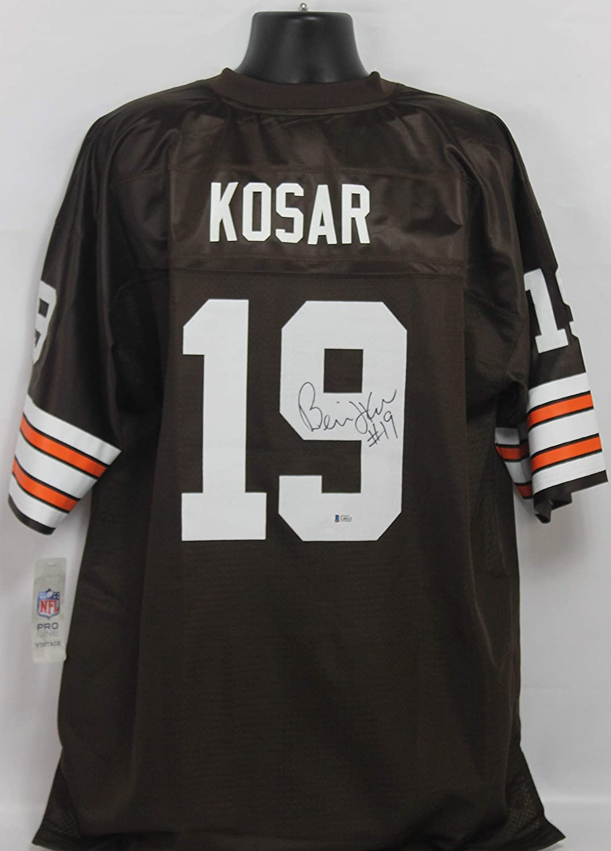Bernie Kosar Autographed Cleveland Browns Jersey w/Beckett COA