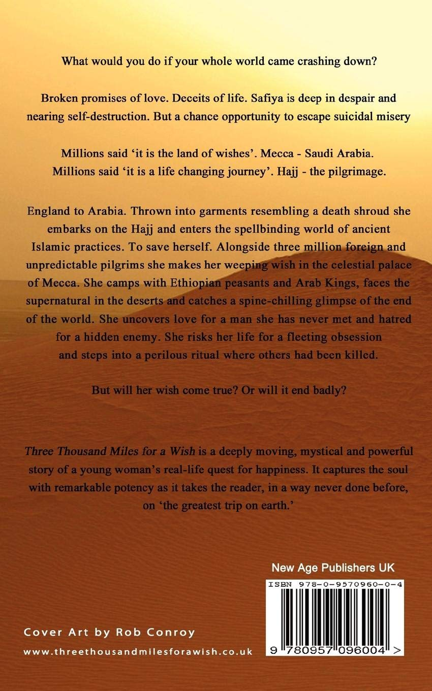 Three Thousand Miles for a Wish: Amazon es: Safiya Hussain