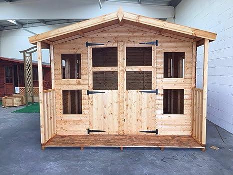 10x10 + 2 bizcochuelos porche 19 mm promediado £1380: Amazon.es ...