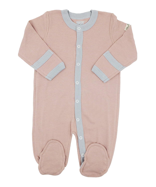 9297f5489 Amazon.com: Little World Peas Organic Baby Girls Footed Sleepsuit: Clothing