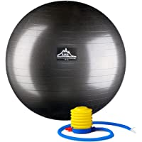 Black Mountain Products Professional Grade Pro Series 1000Lbs AntiBurst and 2000Lbs Static Weight Capacity Exercise…