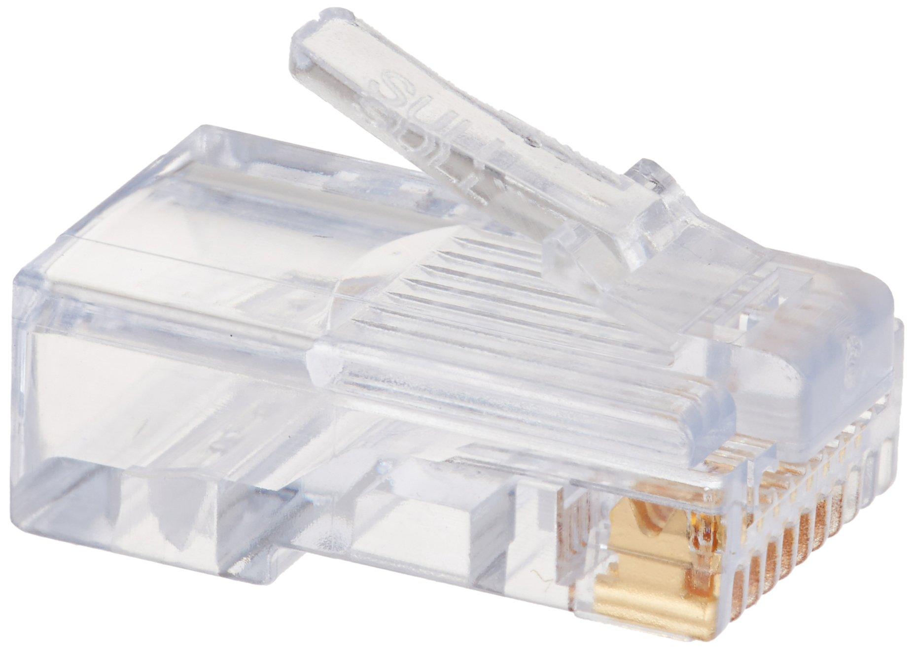 Platinum Tools 105003    EZ-RJ45 Cat5e Connector, 500-Pack