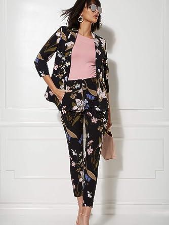 e422259b1 New York & Co. Women's Madie Floral Open-Front Blazer - Xxlarge ...