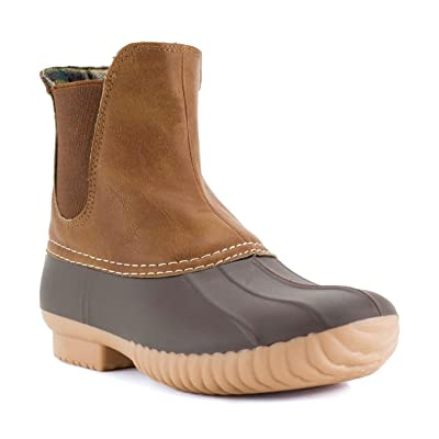 AVANTI Rocky Womens Slip On Duckboot - Waterproof Rainboot | Shoes