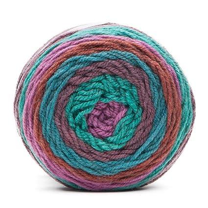 Caron Cakes Self Striping Yarn 383 yd/350 m 7 1 oz/200 g (Rum Raisin)