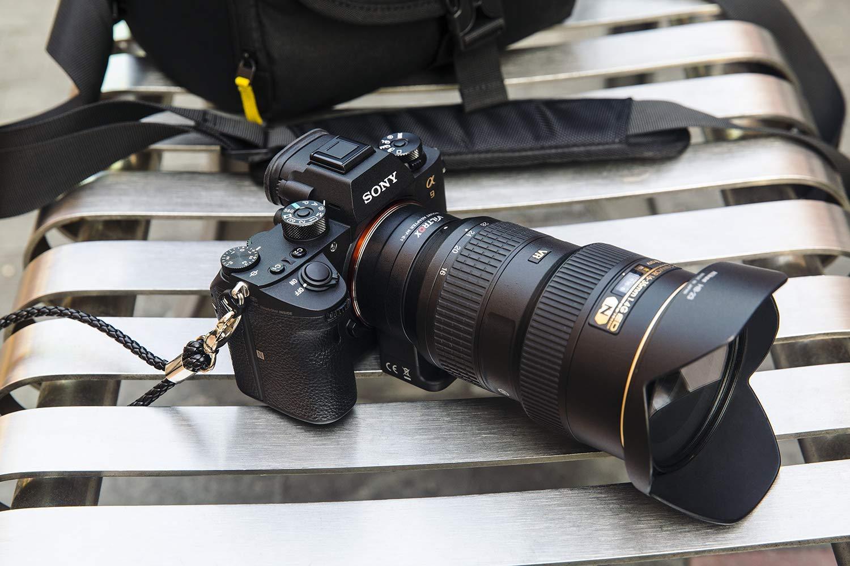Viltrox Adaptador de Montaje electr/ónico NF-E1 Auto-Focus Lente de Control de Apertura para Nikon Tamron Sigma F Mount Lenses a Sony E Mount c/ámara A9 A7RIII A7RII A7III A7II A6500 A6300