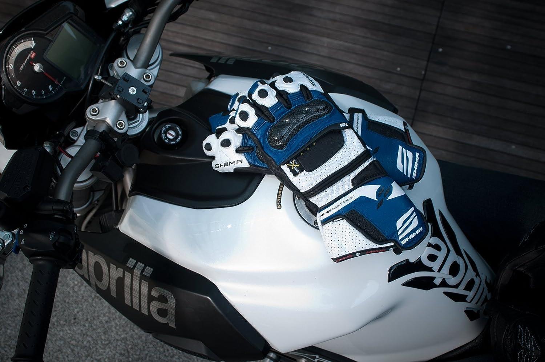 Shima RS-1 Tama/ño: L Azul KNOX Ventilados Sport Verano Elegante Durable Guantes de Motociclismo S-XXL