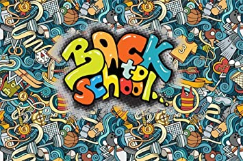 Amazon Com Yeele 10x8ft Vinyl Back To School Backdrop For Photography Graffiti Pencil Blackboard Background Teacher Student Education Party Portrait Backdrops Banner Studio Props Camera Photo