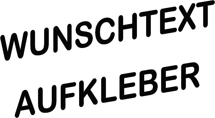 Topdesignshop Wunschaufkleber Mit Vorschau Gestalten Autoaufkleber Nach Wunsch Buchstaben Text Sticker Fürs Auto Einzeilig Auto