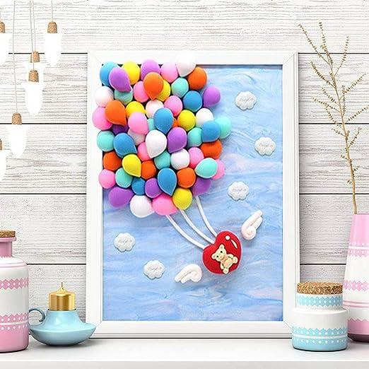 Kit de arcilla polimérica con marco de fotos para niños, arcilla ...