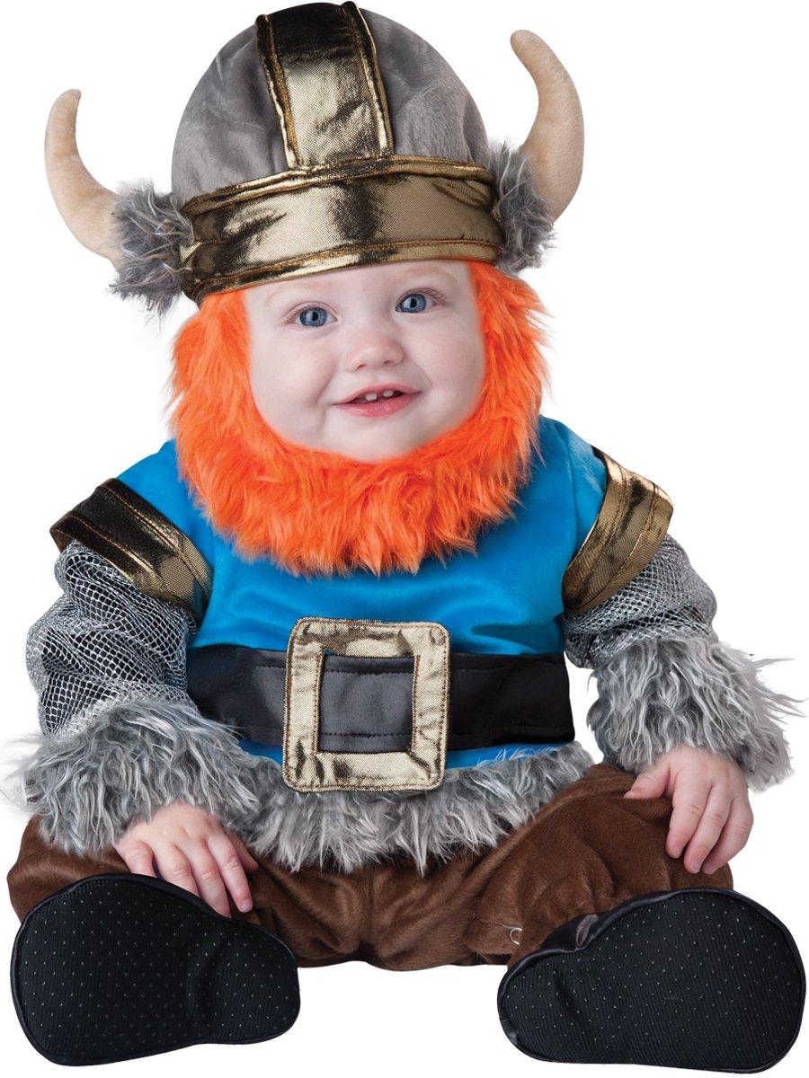 Multicolord Large (182T) InCharacter Lil' Viking Infant Toddler Costume Large (182T)