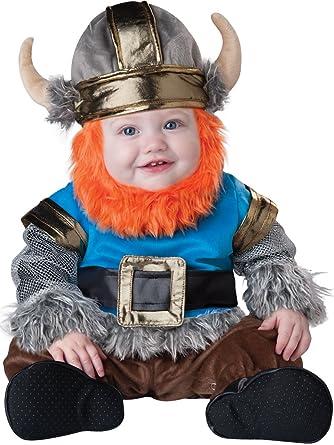 sc 1 st  Amazon.com & Amazon.com: InCharacter Baby Lilu0027 Viking Costume: Clothing