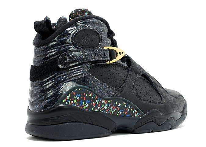 purchase cheap c6d00 0a891 Amazon.com   Jordan Air 8 Retro Cigar   Champagne Men s Shoe Black Gold Anthracite  832821-004   Basketball