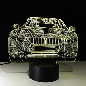 Vehículo Big Suv Auto Car 3D Night Light Placa De Acrílico 7 ...