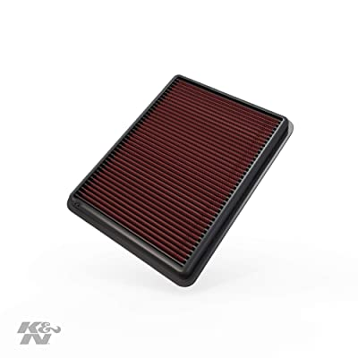 K&N Engine Air Filter: High Performance, Premium, Washable, Replacement Filter: 2012-2020 Hyundai/Kia (Santa Fe, Sorento), 33-2493: Automotive