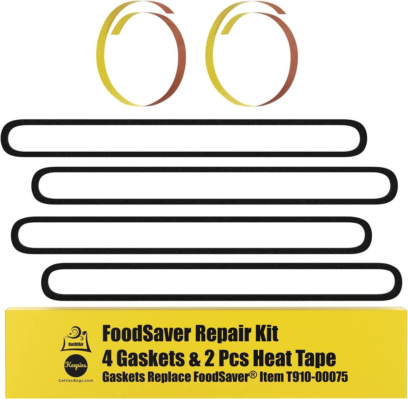Details about  /Food Saver Vacuum Sealer Gaskets Seals Replacement Parts Upper Gasket Pack of 4