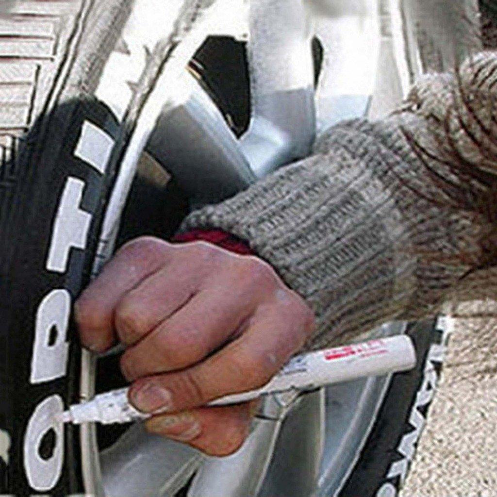 couleur: rouge HuaYang 2/pour voiture v/éhicule moto pneu pneu roue Decor Marqueur peinture